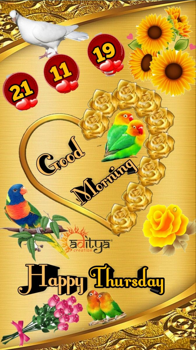 🌷शुभ गुरुवार - ! 19 . Morning 2 creation Happy Thursday - ShareChat