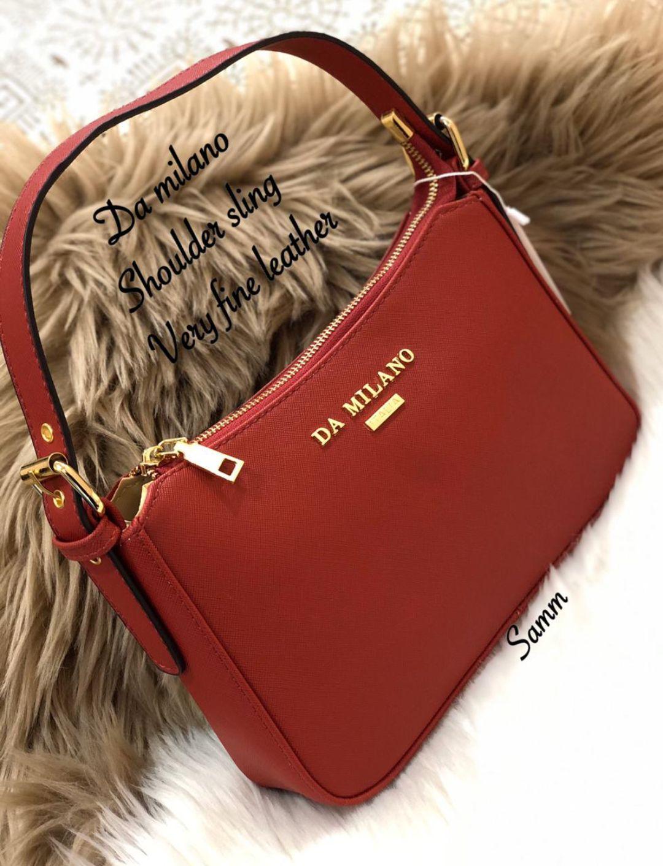 👛  ਪਰਸ ਅਤੇ ਹਾਈ ਹੀਲਜ਼ 👠 - 5515 Da milano Shoulder sling Very fine leather DA MILANO Samm - ShareChat