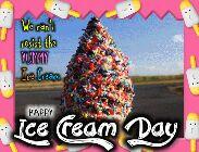 இன்று ஐஸ் கிரீம் தினம் - We can ' t resist the YUMMY Ice Cream HAPPY Ice Team Day - ShareChat