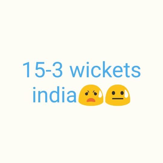 🏏 IND vs NZ T20 - 15 - 3 wickets india o - ShareChat
