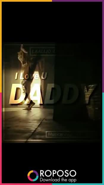 భంధం - LAALIJO LAALIJO Love U DADDY Musical Beats Of Telugu OROPOSO Download the app ROPOSO India ' s no . 1 video app Download now : - ShareChat
