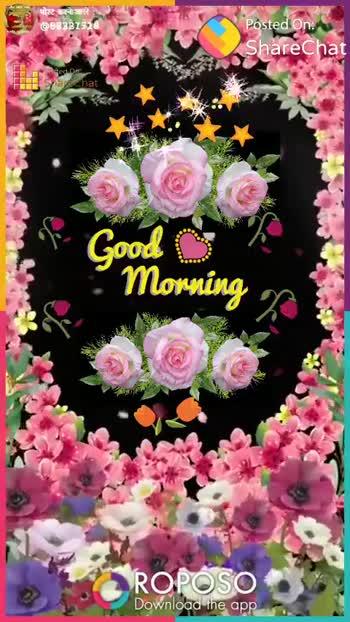 🌞সুপ্রভাত - ३ पोस्ट करने वाले 88287328 Posted On : ShareChat dedor FERR Shape chat Good Morning ROPOSO Download the app ShareChat kuldeep gujjar 88321728 शैयरचैट गलै मजा आ गया Follow - ShareChat