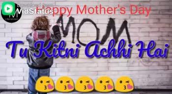 🎥मदर्स डे व्हिडीओ स्टेटस - Download from Nidstatusopy Mother ' s Day SAMOM Pyaari Pyaar Hai Nidstatusppy Mother ' s Day Momoa - ShareChat