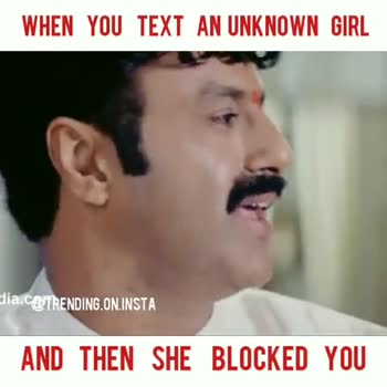 💔లవ్ ఫెయిల్యూర్ సాంగ్స్ - WHEN YOU TEXT AN UNKNOWN GIRL dia . c @ TRENDING . ON . INSTA AND THEN SHE BLOCKED YOU WHEN YOU TEXT AN UNKNOWN GIRL Elia . c @ TRENDING ON INSTA AND THEN SHE BLOCKED YOU - ShareChat