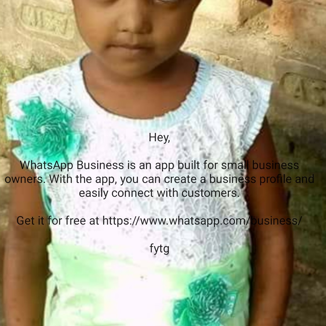 IND vs ENG - Hey , WhatsApp Business is an app built for small business owners . With the app , you can create a business profile and easily connect with customers . Get it for free at https : / / www . whatsapp . com / business / fytg - ShareChat