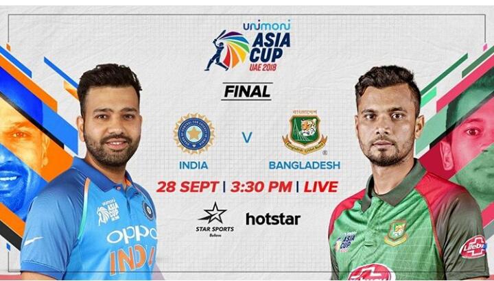 India vs Bangladesh - urimoni ASIA CUP UAE 2018 ESTA FINAL INDIA BANGLADESH 28 SEPTI 3 : 30 PM I LIVE O ☆ hotstar hotstar na A . STAR SPORTS Oppo - ShareChat