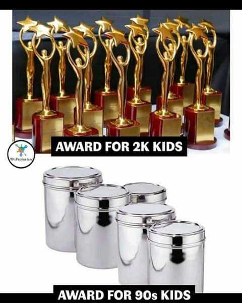 90s kids - AWARD FOR 2K KIDS AWARD FOR 90s KIDS - ShareChat