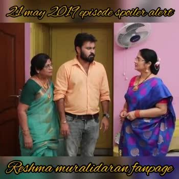 poove poochudava - 21 may 2017 episode spoiler alert Resimamaralidaran fanpage may 2017 episode apoiler alerts Reshma muralidaran fanpage - ShareChat