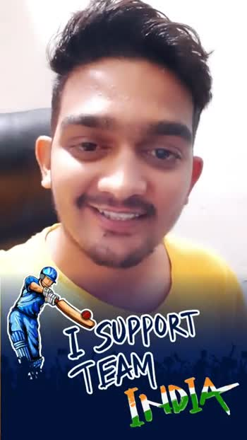 🏏India vs South Africa🏏 - I SUPPORT AM I SUPPORT - ShareChat