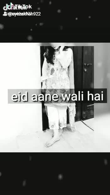 eid mubarak😘 - Jehitistek Bauery bakpian922 or vo mujse bhot dur hai unki eid bhot acechi guzre @ azatikteks @ ayezakhan922 - ShareChat