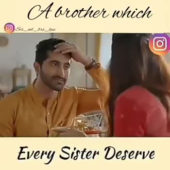 👱‍♀️ લાડકી બહેન - A brother which Sis _ nd _ bro _ love Every Sister Deserve A brother which O Sis _ ad _ bro _ love Sis _ ad _ wrc _ love Double Tap Like , Mention , Share - ShareChat