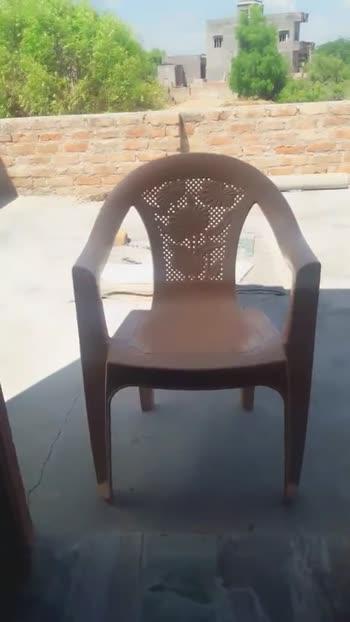 कुर्सी का वीडियो चैलेंज♿️ - ShareChat