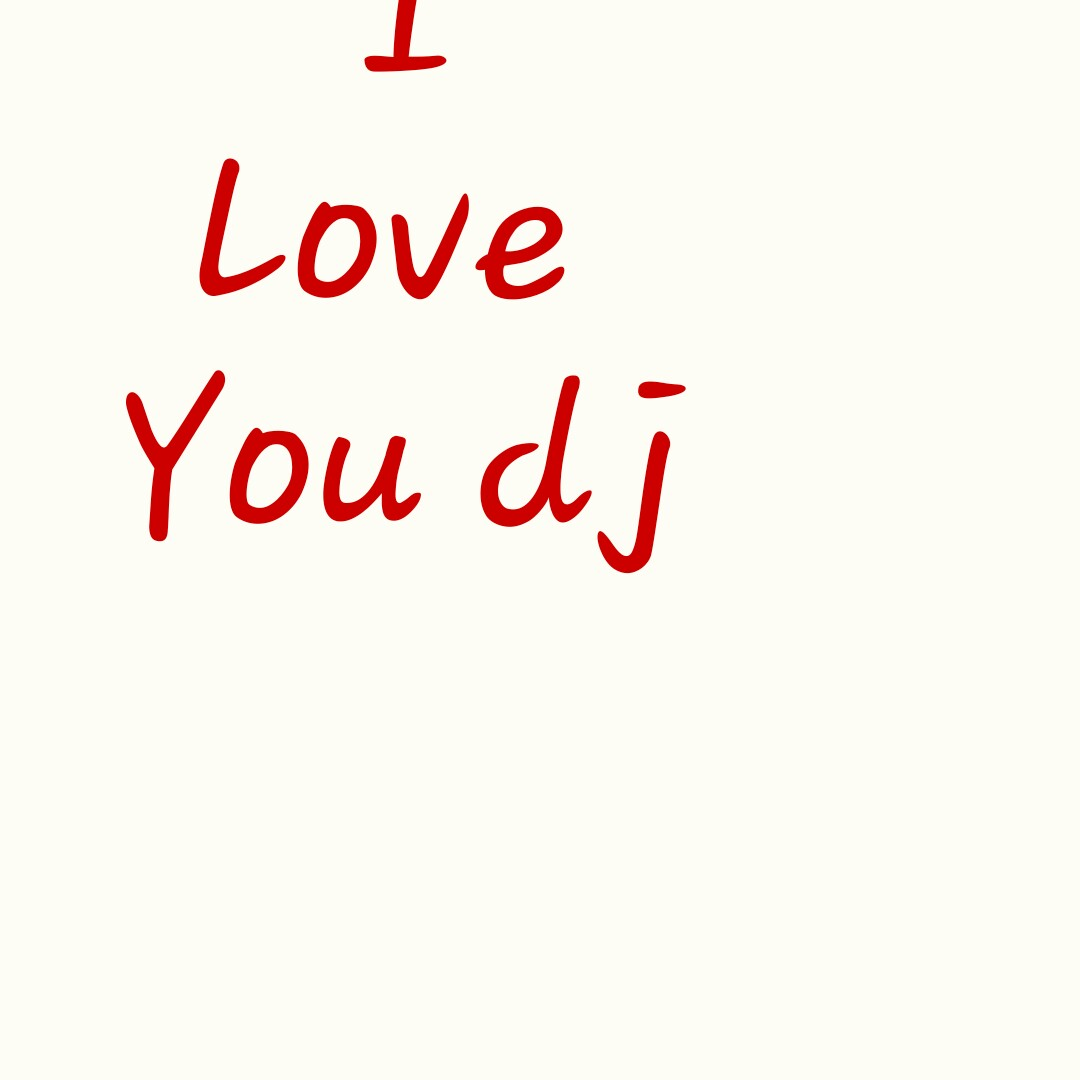 😍 'I Love You' લખો ચેલેન્જ - Love You dj - ShareChat