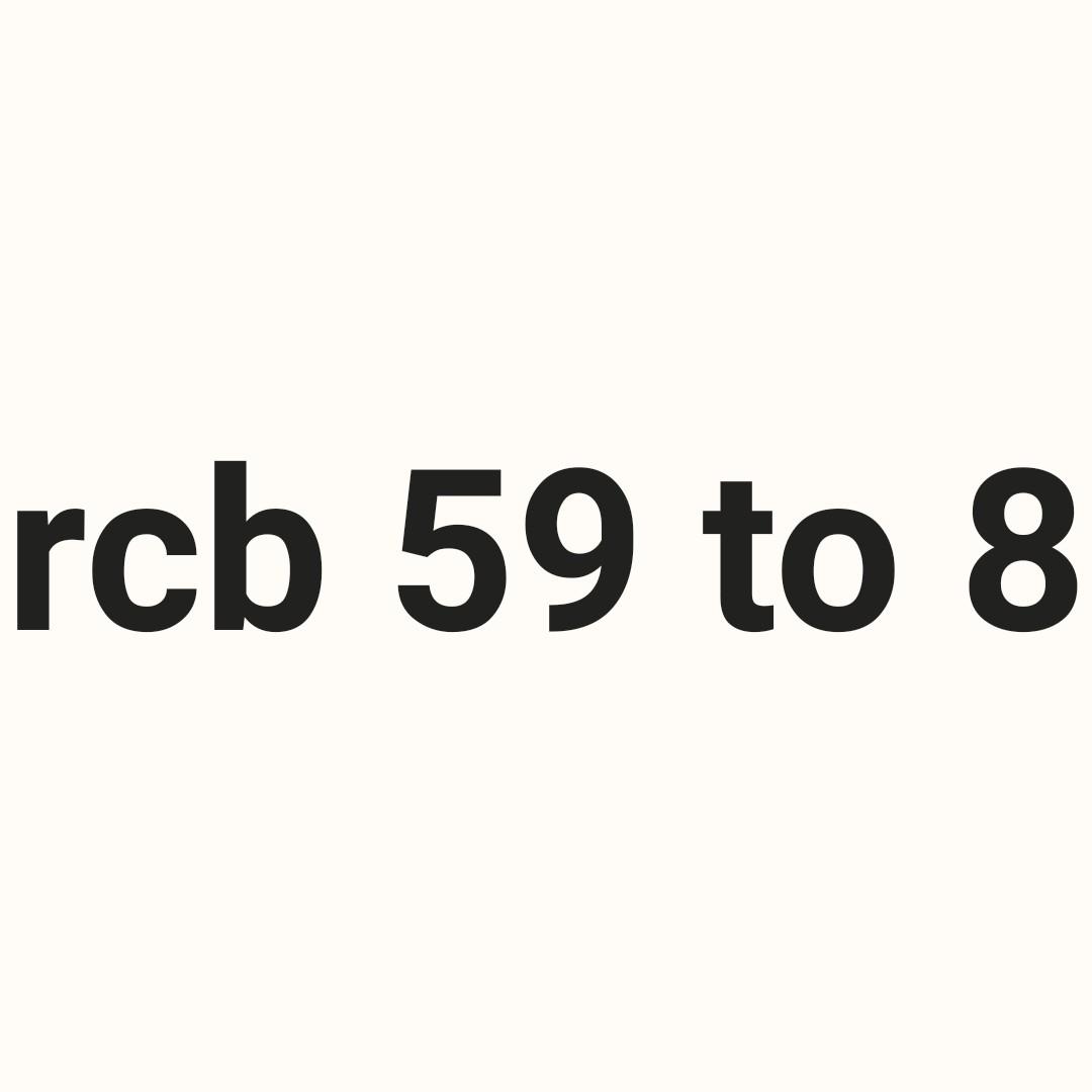 🏏CSK vs RCB 1st IPL मॅच - rcb 59 to 8 - ShareChat