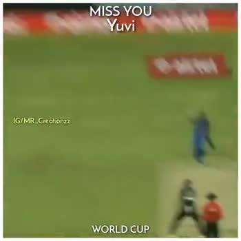 🏏 ಯುವಿ ಕ್ರಿಕೆಟ್ ಗೆ ವಿದಾಯ - MISS YOU Yuvi IG / MR _ Creationzz WORLD CUP Follow @ MR _ Creationzz - ShareChat