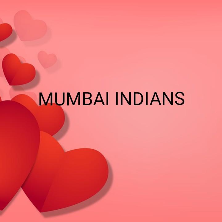 DC vs MI - MUMBAI INDIANS - ShareChat