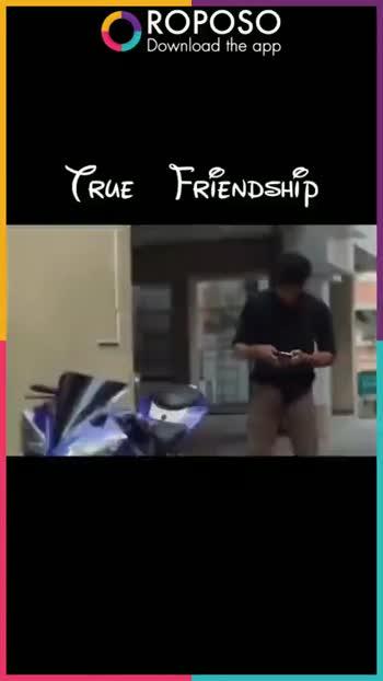 natpu - ROPOSO Download the app PRUE FRIENDSHÍD ROPOSO Download the app DEDICATING TO ALL TRUE FRIENDS M M - ShareChat