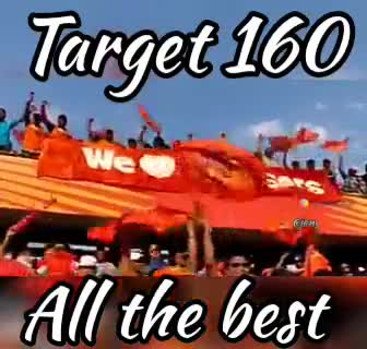 🏏SRH vs KKR - Target 160 kon All the best Target 160 All the best - ShareChat