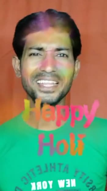 happy holi - Hary Hot - ShareChat