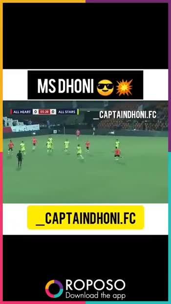 🧑  தல தோனி - MS DHONI CAPTAINDHONI . FC CAPTAINDHONI . FC O ROPOSO Download the app ROPOSO India ' s no . 1 video app Download now : 0 - ShareChat
