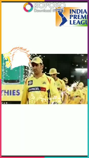 💛 CSK: चेन्नई सुपर किंग्स - ROPOSO Download the app INDIA PREMI LEAGU CHENNAI SUPER KINGS ДАР КО ROPOSO India ' s no . 1 video app Download now : 0 - ShareChat