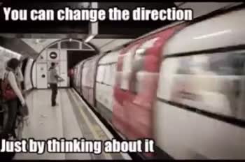 📹वाइरल वीडियो - You can change the direction Just by thinking about it You can change the direction Just by thinking about it - ShareChat