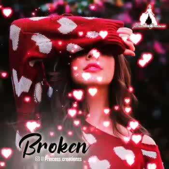 💕 காதல் ஸ்டேட்டஸ் - Broken Il Princess creations Broken Il Princess . creations - ShareChat