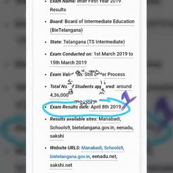results - results tensions - vamshi krishna chinthapoola - ShareChat