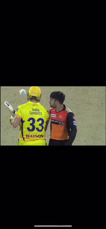 CSK vs SRH - India Cements 3311 WATSO RUPA COOLWINKS - ShareChat
