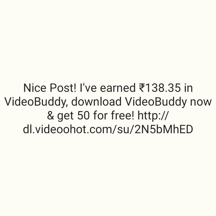💵सट्टा मटका - Nice Post ! I ' ve earned €138 . 35 in VideoBuddy , download VideoBuddy now & get 50 for free ! http : / / dl . videoohot . com / su / 2N5bMHED - ShareChat