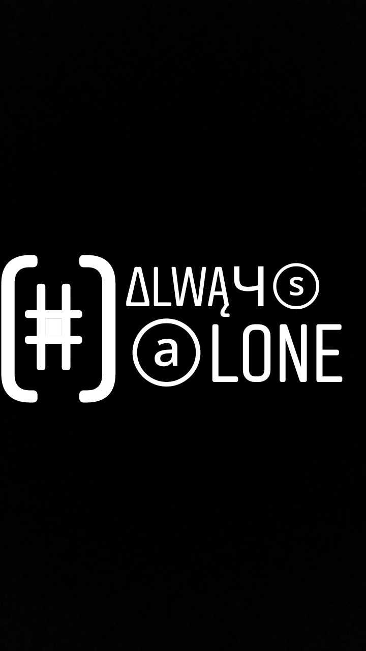 Alone - ALWĄ46 J @ LONE - ShareChat