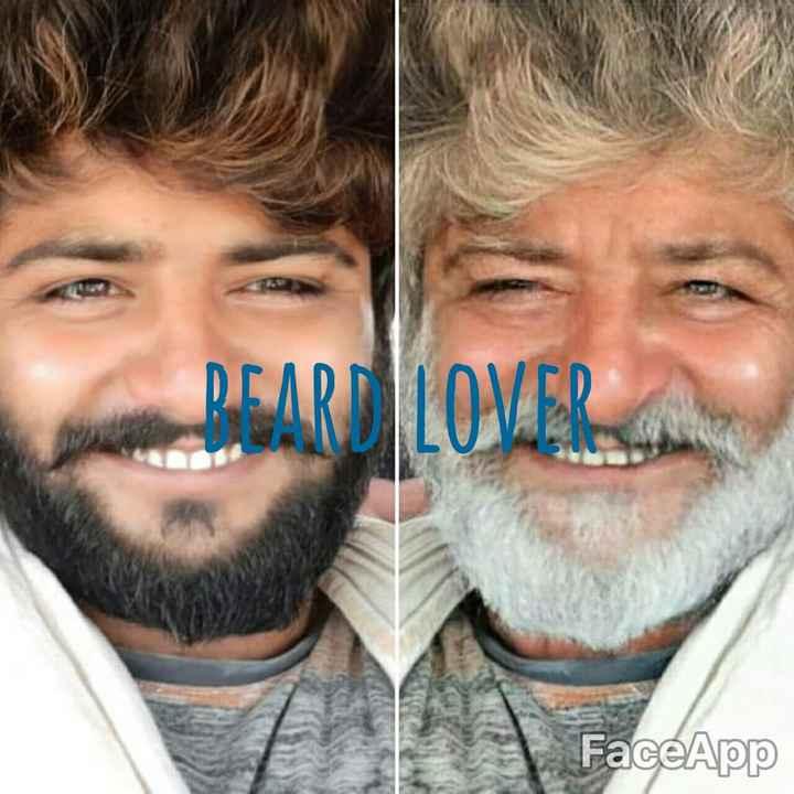 Beard ಸ್ಟೈಲ್ಸ್ - PEARD LOVERS FaceApp - ShareChat