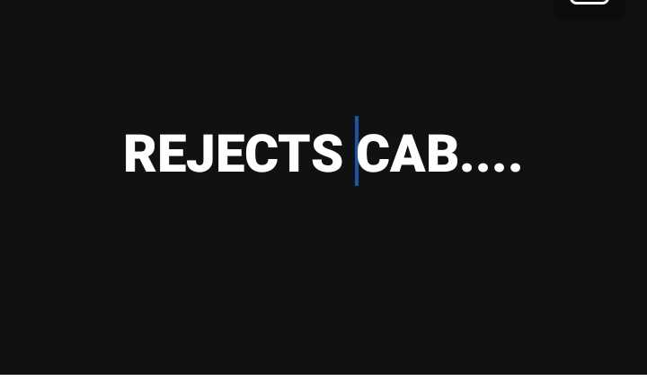 CAB নিয়ে মতামত❓ - REJECTS CAB . . . . - ShareChat