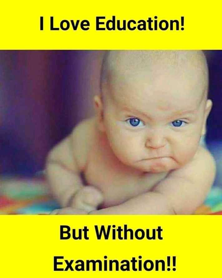 📄 CBSE: 10th का परिणाम - I Love Education ! But Without Examination ! ! - ShareChat