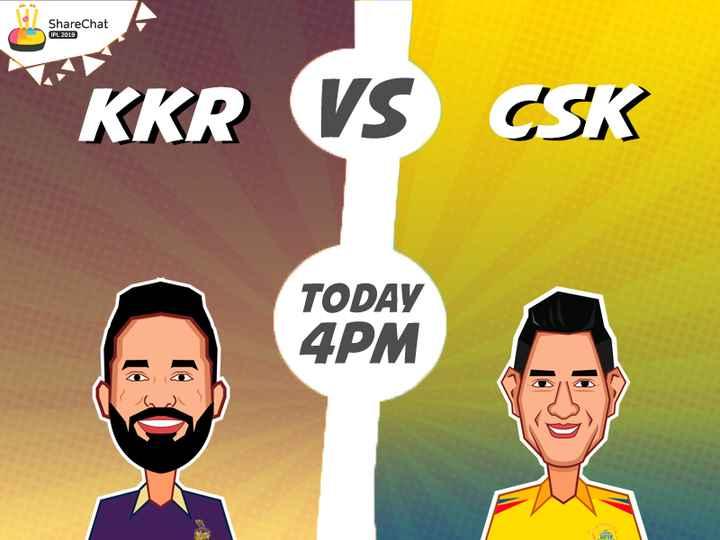 CSK vs KKR - ShareChat