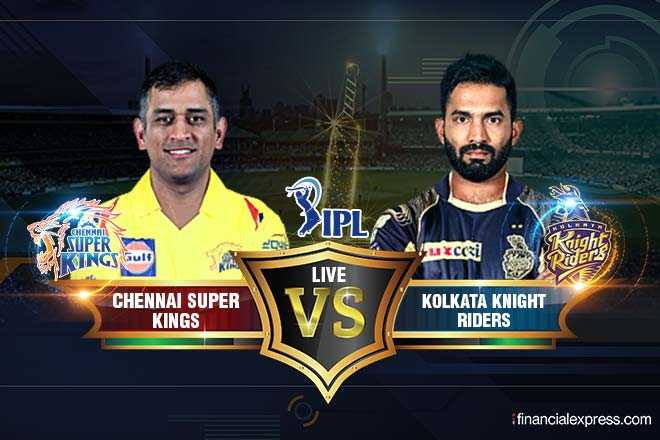 🏏 CSK 💛 vs KKR 🖤 - IPL Luxcezi LIVE CHENNAI SUPER KINGS CHENNALESUPERV S KOLKATA KNIGHT RIDERS financialexpress . com - ShareChat