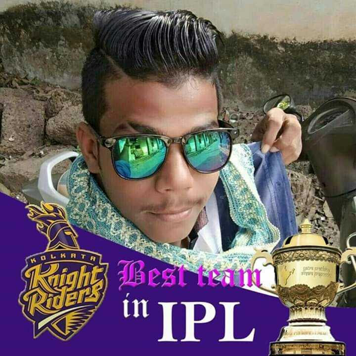 CSK vs KKR - LK AT Right Best temT Riders in in IPL - ShareChat