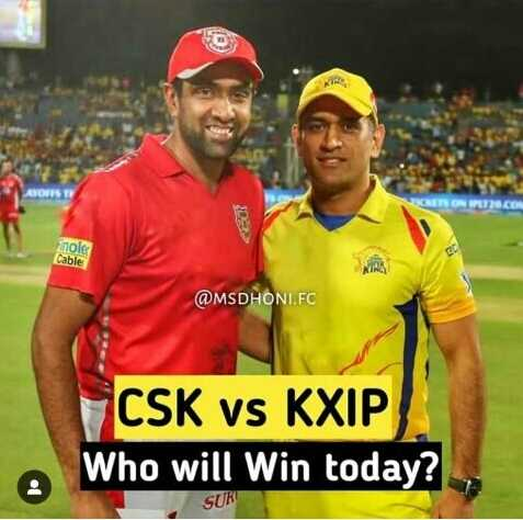 💛 CSK vs KXIP 💗 - ANONS CES ON IS . COM noler Cable @ MSDHONI . FC CSK vs KXIP Who will win today ? : SURE - ShareChat