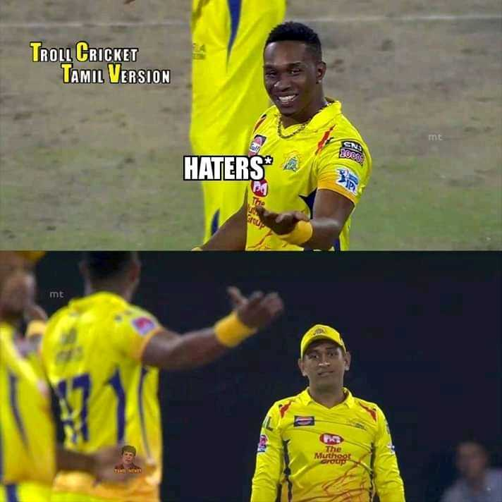 CSK vs RR - TROLL CRICKET TAMIL VERSION HATERS mt The Muthoo - ShareChat