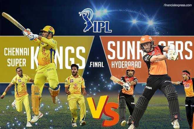 CSK vs SRH - financialexpress . com IPL CHENNAI SUPER IN SUNDERS . FINAL HYDERARAD - ShareChat