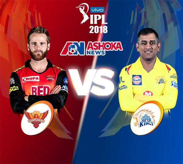 CSK vs SRH - Vivo > IPL 2018 NASHOKA RUPA VS TRY REDIAS SUNRISER SUPER KINGS - ShareChat