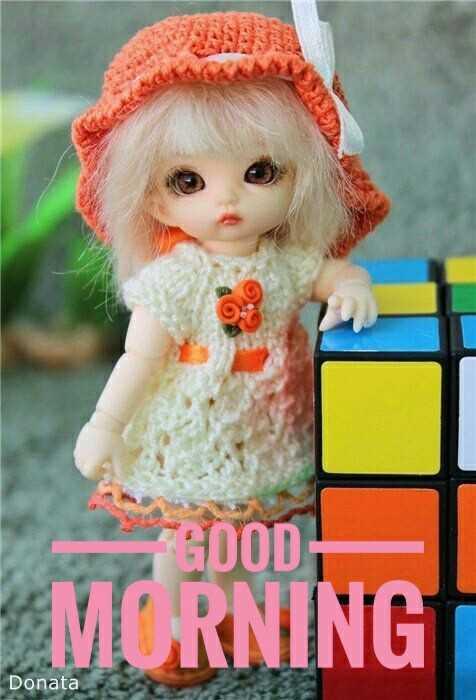 🤗Cute Dolls & Toys - GOOD MORNING Donata - ShareChat