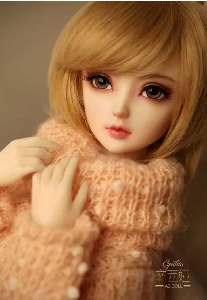 🤗Cute Dolls & Toys - Cinthia 辛西娅 - AS DOLL - ShareChat
