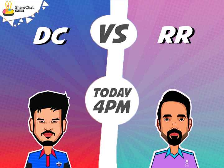 🏏DC vs RR - ShareChat