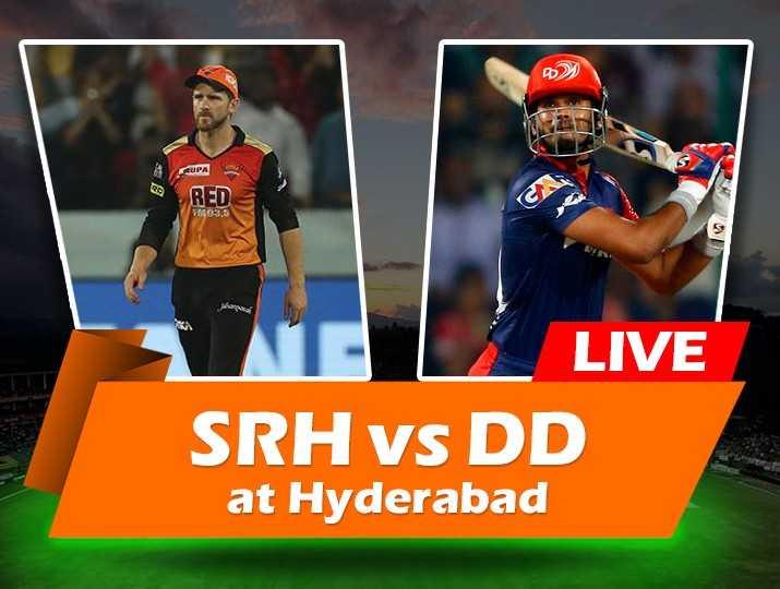 DC vs SRH - B2 RED GMO3 , 5 what LIVE SRH vs DD at Hyderabad - ShareChat