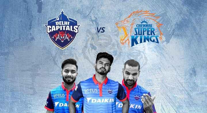DD vs CSK - DELHI TAPITALS VS CHENNAI SUPER INGEN LOTUS LOTUS DAIKI . CROALS DA KIN - ShareChat