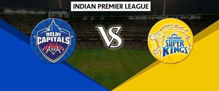 DD vs CSK - INDIAN PREMIER LEAGUE DELHI TAPITALS Touring VS C CHENNAI SUPER KINGS - ShareChat