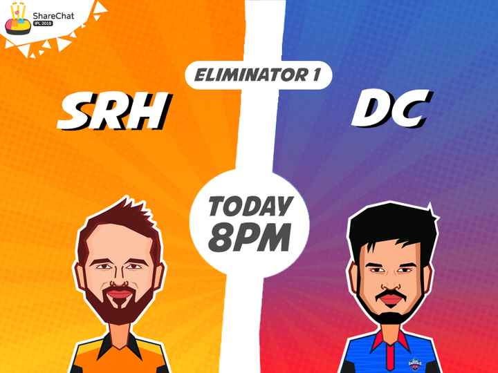 🏏DD vs SRH🏏 - ShareChat