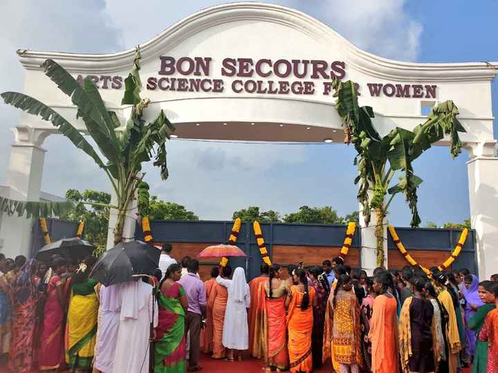 DMK4TN - BON SECOURS RTS SCIENCE COLLEGE FOR WOMEN - ShareChat