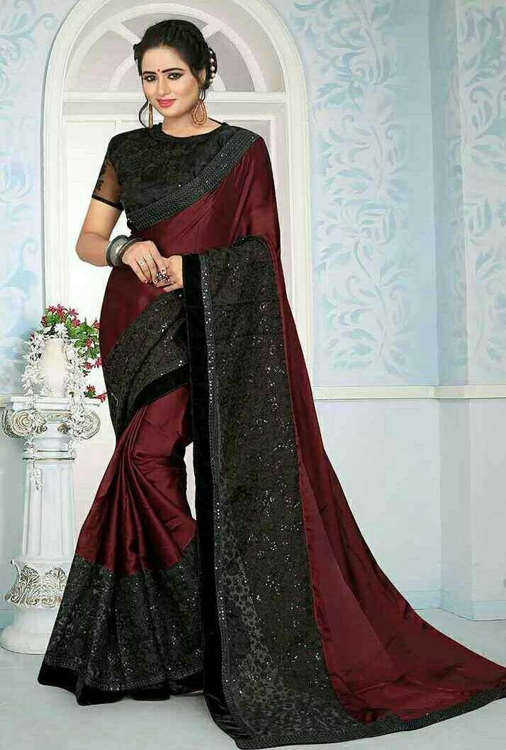 Designer Saree - ShareChat